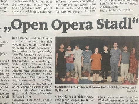 Murtaler Zeitung 29.07.2019, Written by Hans Höbenreich, Austria