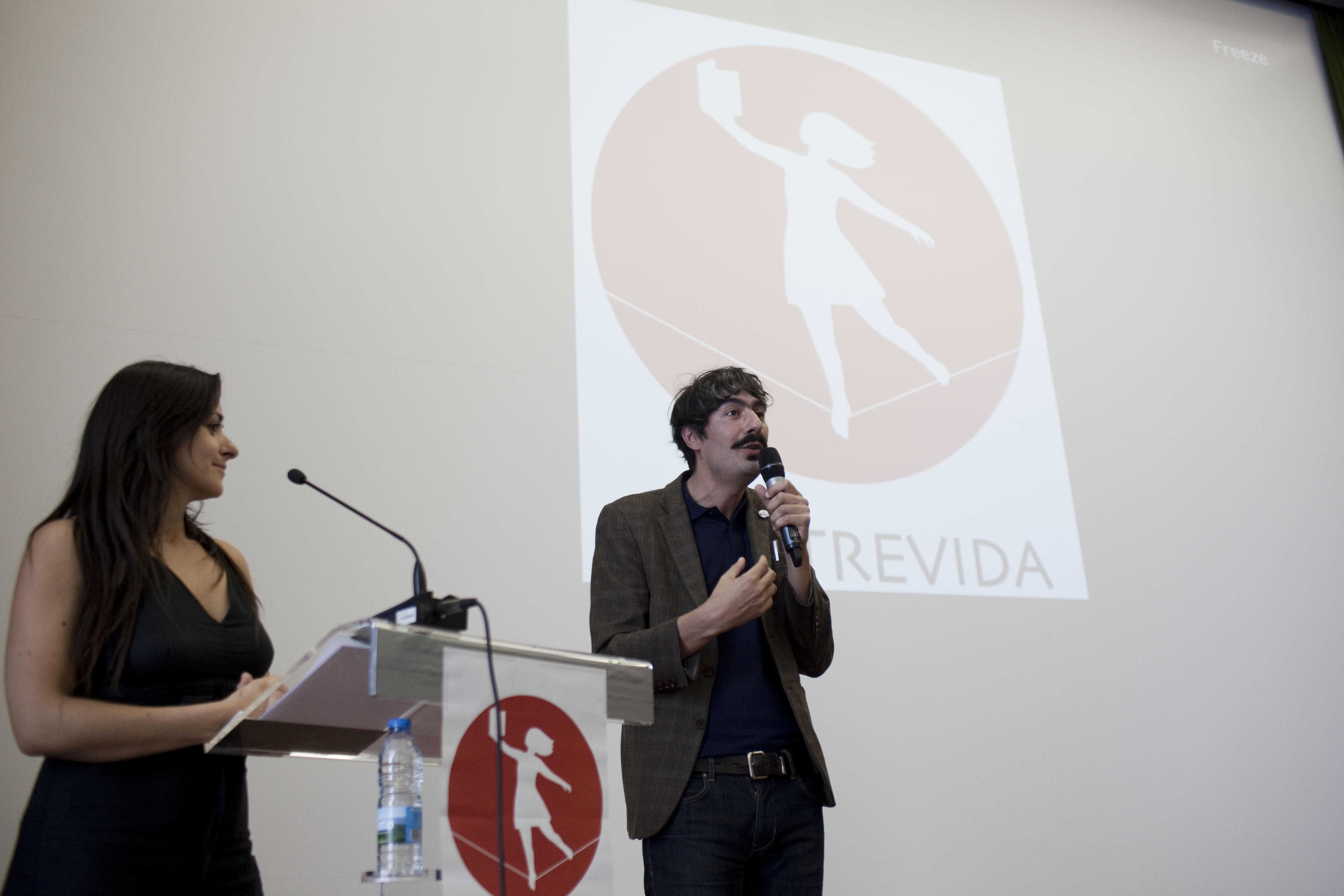 Javier Betemps e Marta Silva