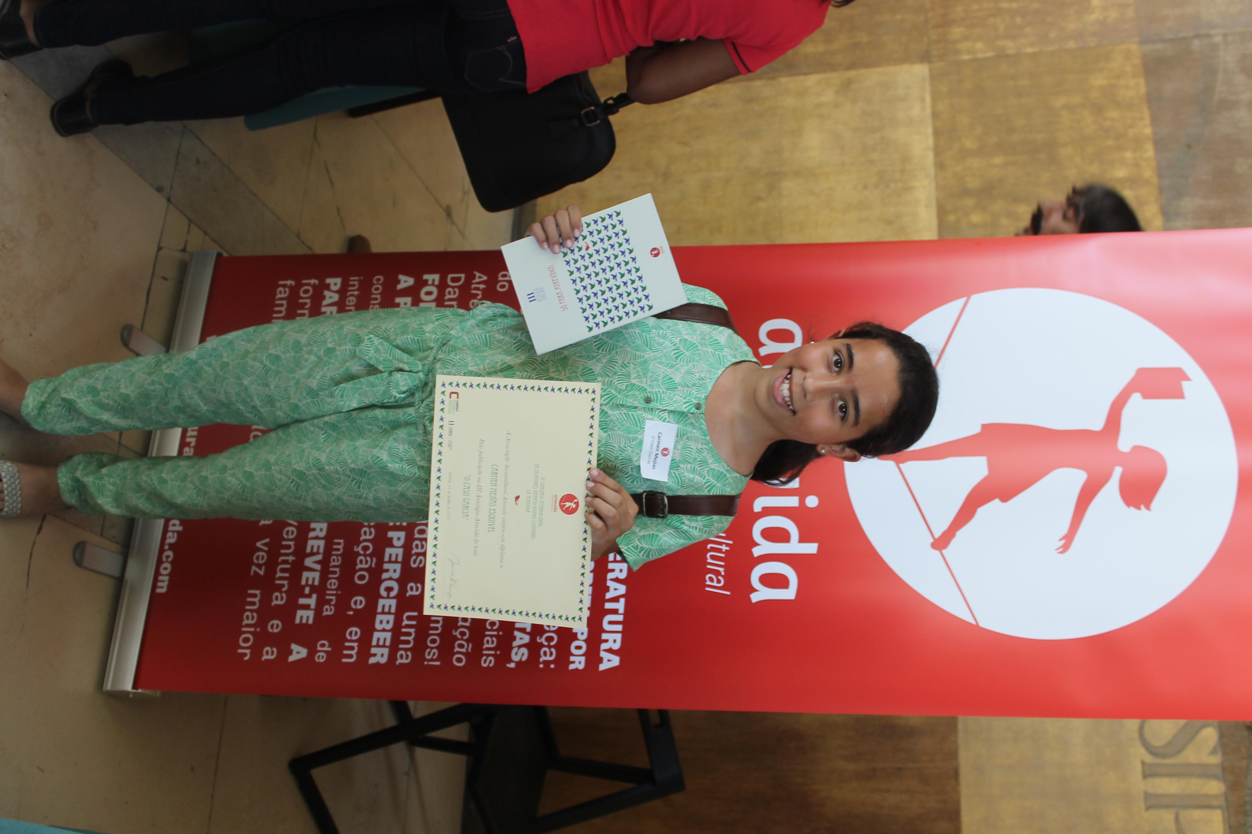 Orgulho do diploma atrevida