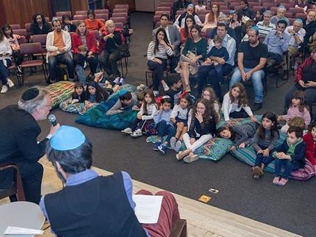 Bate-papo com o rabino Dr. Ruben Sternschein na CIP