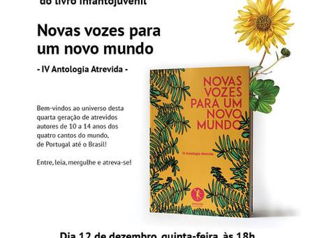 Lançamento e apresentação IV Antologia Atrevida em Portugal!