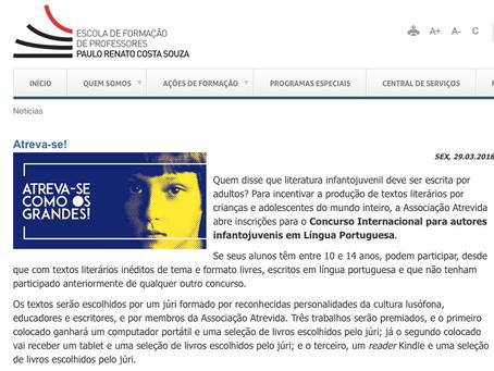 Secretaria de Educação do Estado de São Paulo divulga o concurso em seu site