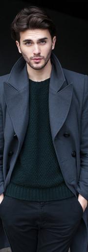 남성 패션 모델