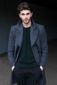 男性ファッションモデル