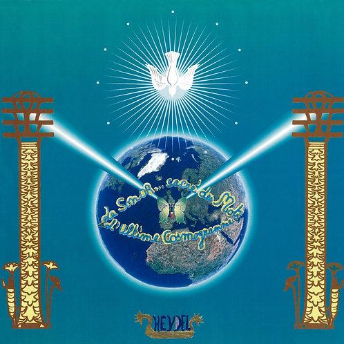 """Mandala """"La Colombe de la Paix"""" - format poster"""