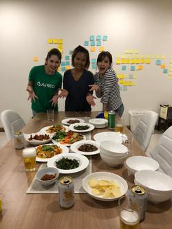 タイ料理を習う
