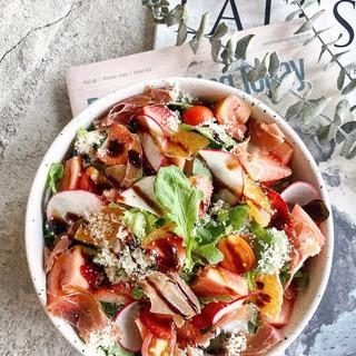 Ham & Rucola Salad