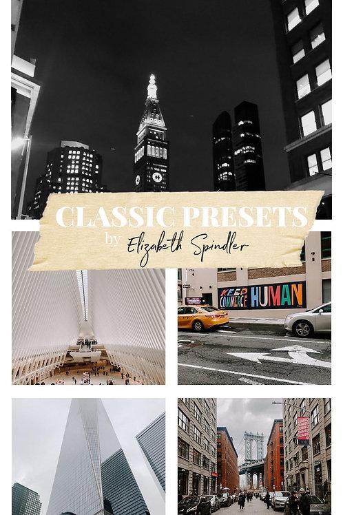 Elizabeth Spindler - Classic Presets