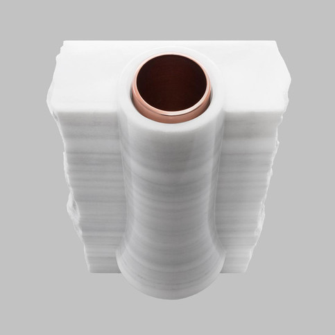Angle Marble Vase