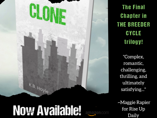 Get the conclusion to K.B.'s Breeder Cycle, 'Clone,' now!