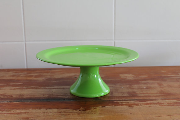 Prato Para Bolo Verde