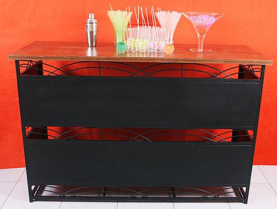 Open Bar Preto