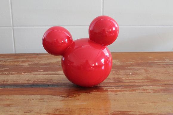 Cabeça Mikey Vermelha