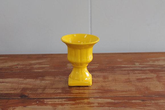 Vaso Grego Amarelo P