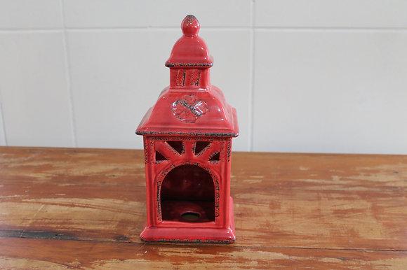Gaiola Ceramica Vermelha