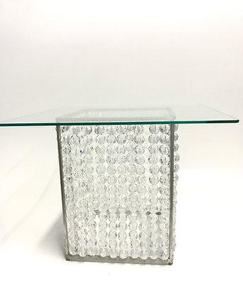 Doceira Cubo Cristal C/ Vidro