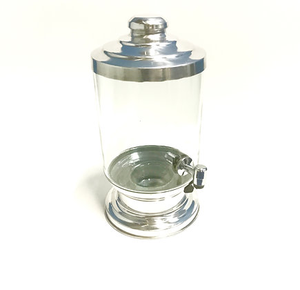 Barril Vidro Cilindrico 5 L C/ Torneira (  Peças)