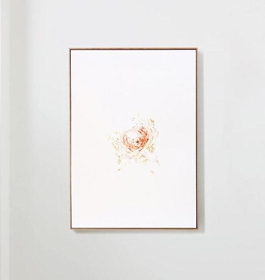Bloom in Red & Ochre, 4
