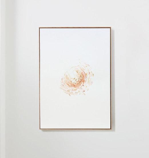 Bloom in Red & Ochre, 1