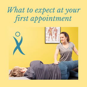 What to expect at your first appointment