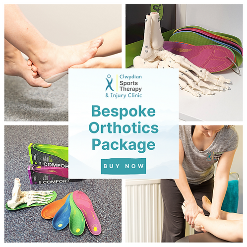 Bespoke Orthotics Package