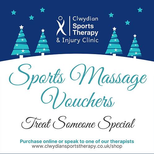 Sports Massage Gift Vouchers