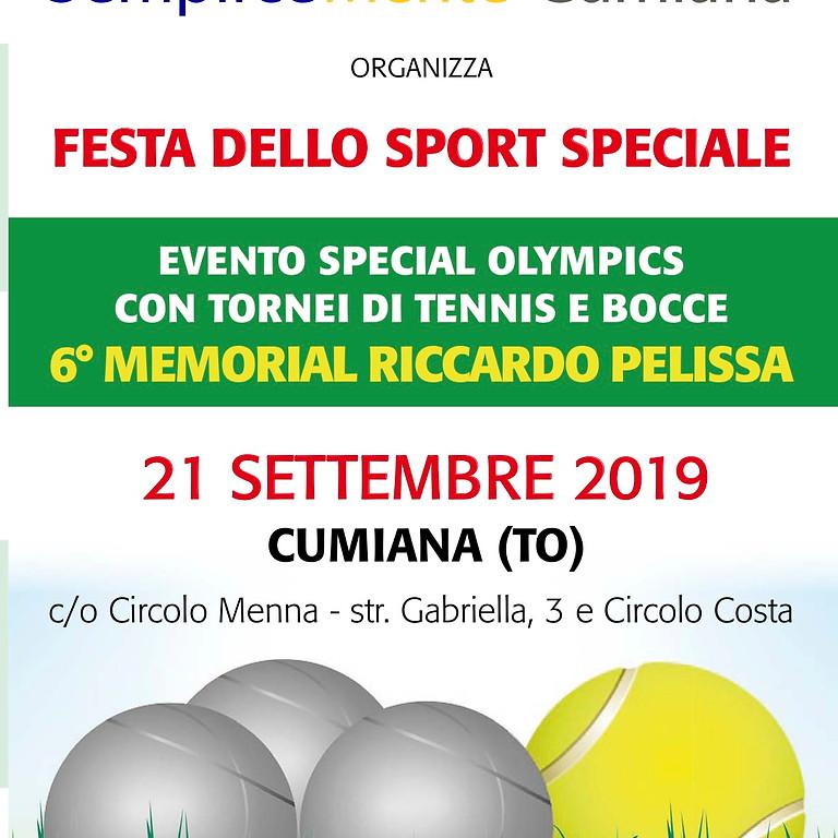 TENNIS/BOCCE - Festa dello Sport Speciale