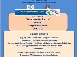 PROGETTO MARTINA