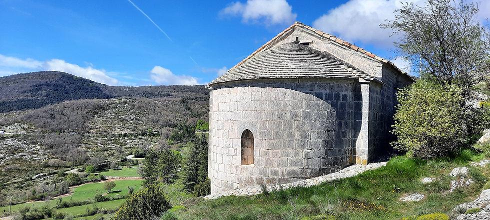 chapelle saint Jean-Baptiste de Comps-sur-Artuby