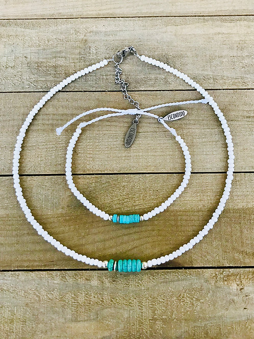 Tribu w/beads Set N&B