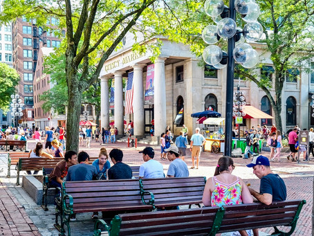 Quincy Market and Faneuil Hall