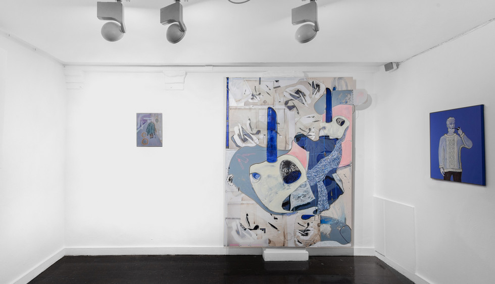 Works by Phillip Reeves (Left & Right) and Héloïse Delègue