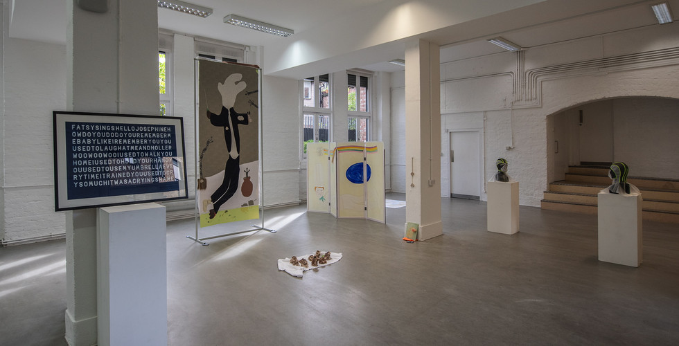 Works by James Sirrell, Miriam Naeh, Phillip Reeves and Rachel Cheung