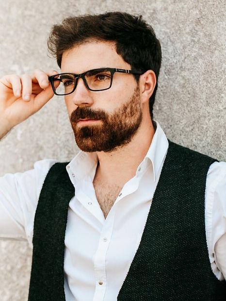 Optical frames for man