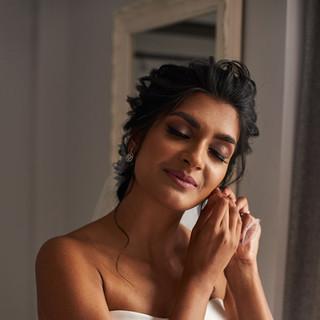 Jaineesha Makeup Artist, Indy Sagoo, Wed2B, Cotswold Wedding, Painswick Roccoco gardens