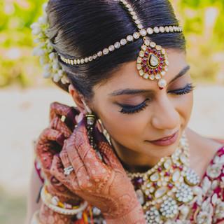 Jaineesha Makeup Artist - Bhavna Barratt, Taj Fort Aguada Goa Wedding