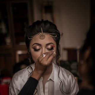 Jaineesha Makeup Artist, Patricia & Trevor, Hilton Hall Wedding