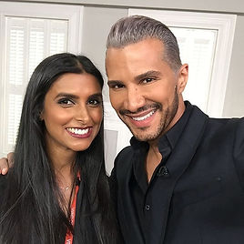 Jay Manuel Beauty - Jaineesha Makeup Artist QVC Beauty backstage mua
