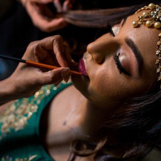 Jaineesha Makeup Artist - Raja Shah Photography Alrewas Hayes Ami Bridal Couture Kyles Collection