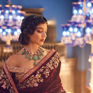 Jaineesha Makeup Artist, Indy Sagoo, Khush Magazine, Bridal Magazin, Amrapali Jewels, Shyamal Bhumika