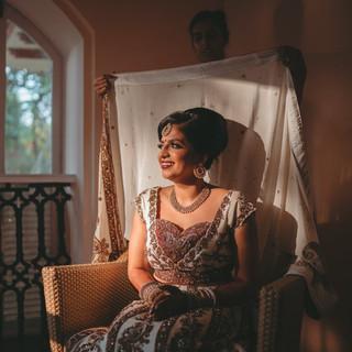 Rohit Nagwekar Jaineesha Makeup Artist, Goa Destination Wedding, Kenilworth resot and spa goa
