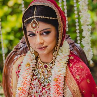 Jaineesha Makeup Artist Bhavna Barratt - taj fort aguada destination wedding goa
