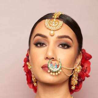 Jaineesha Makeup Artist, Indy Sagoo, Anees Malik Jewellery Blooms By Vanita