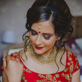 Jaineesha Makeup Artist, Bhavna Barratt, York Asian wedding