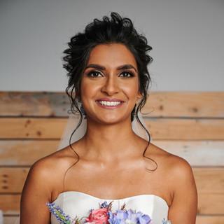 Jaineesha Makeup Artist Indy Sagoo Arpita Karania Blooms by Vanita Cotswold Wedding