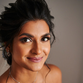 Jaineesha Makeup Artist - Indy Sagoo - Arpita Karania - blooms by vanita - wed2b -cotswold - outdoor wedding - painswick gardens