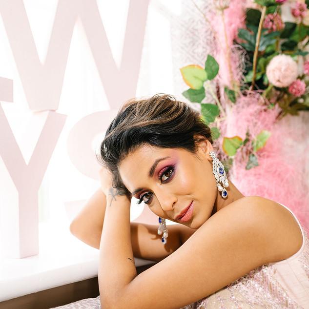 Jaineesha Makeup Artist, Soltee, Artlectric, Hawkestone Hall, Deeya Jewellery