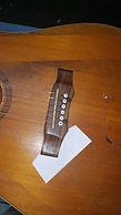 loose guitar bridge