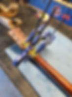 Gibson SG headstock repair clamp
