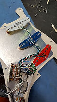 Fender Stratocaster pickup installation